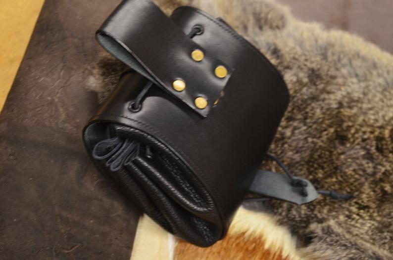 bolso de cadera cuero artesanal