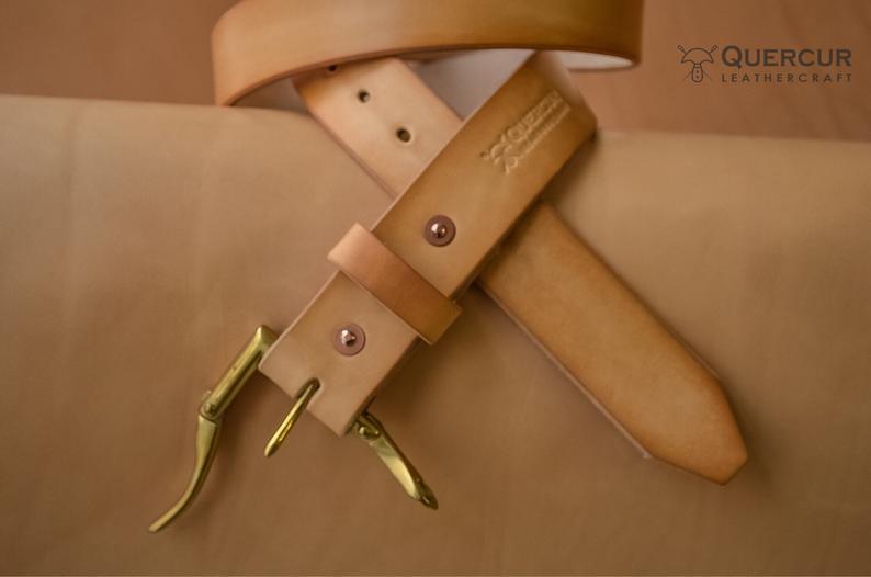 cinturon de cuero hermann oak