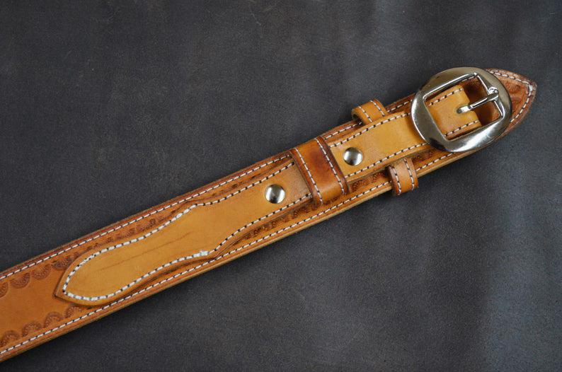 cinturón de ranger cuero