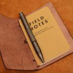 funda cuaderno de notas de cuero