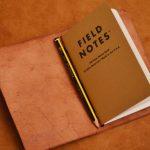 funda cuero cuaderno de notas