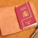 funda cuero pasaporte