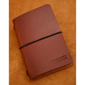 funda cuero pasaporte field notes