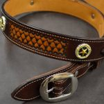 Cinturon Ranger de cuero Decorado