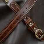 Cinturon Ranger de cuero Decorado detalle