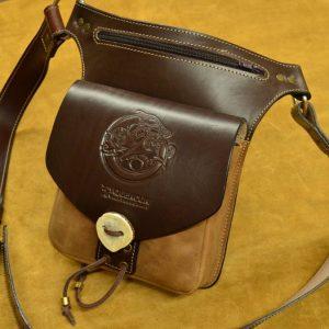 bolso de cadera de cuero cinturón