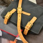 bolso de loneta encerada cuero