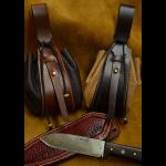 bolso judas de cuero hecho a mano