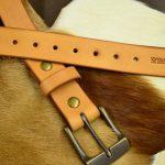 cinturon cuero natural