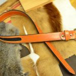 cinturon de piel de raya