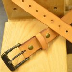 cinturon de piel natural