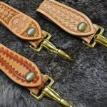 cuelgallaves de piel hecho a mano modelos