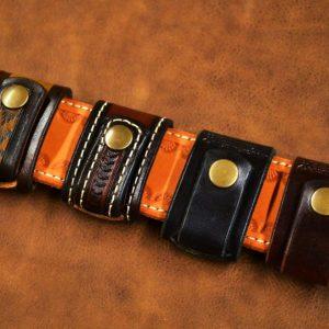 llavero de cuero cinturón modelos